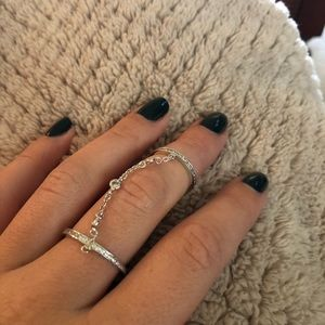 Henri Bendel Double Ring
